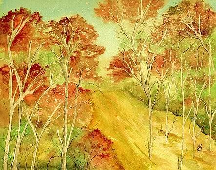 Golden Woods by Brenda Owen