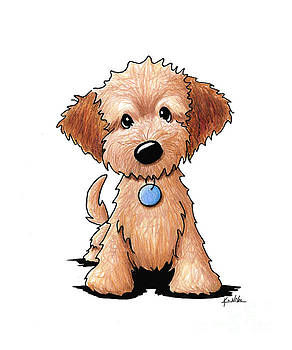 Goldendoodle Puppy by Kim Niles