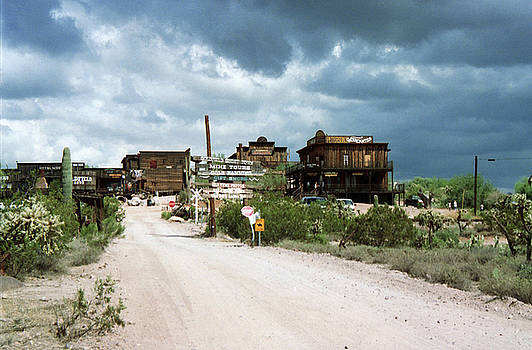 Goldfield Arizona. by Robert Rodda