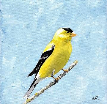 Goldfinch by Anne Hockenberry