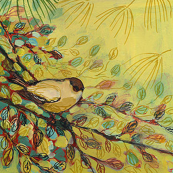 Goldfinch Waiting by Jennifer Lommers
