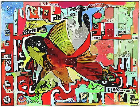 Goldfish #2 by Jann Paxton