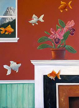 Goldfish in the House by Gerry High