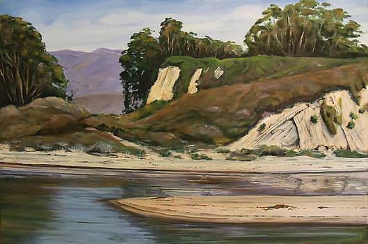 Goleta Beach   The Gap by Jeffrey Campbell