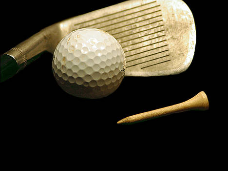 Golf 1 by David Weeks