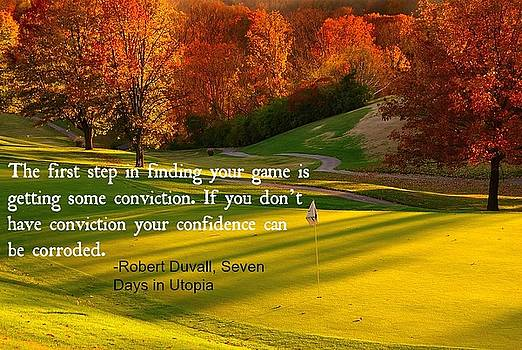 Golf And Life 10 by David Norman