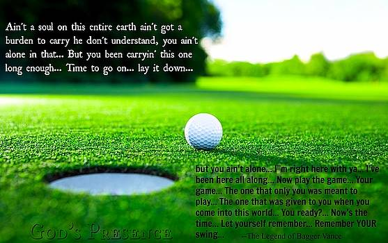 Golf And Life 3 by David Norman