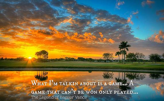 Golf And Life 4 by David Norman