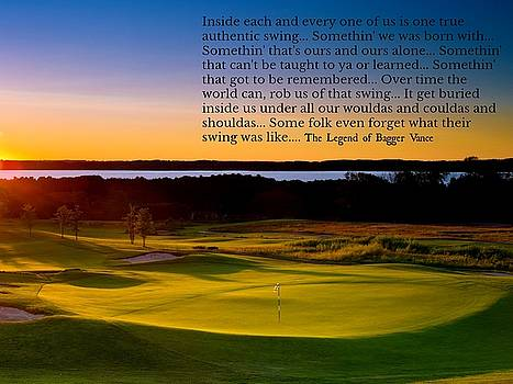 Golf And Life 5 by David Norman