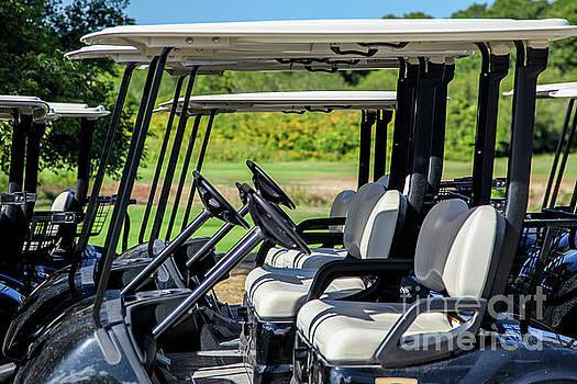 Golf cart by Miro Vrlik