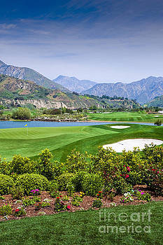 David Zanzinger - Golf Course Mountains Beautiful