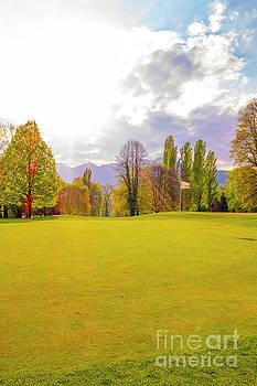 Golf Green by Mats Silvan