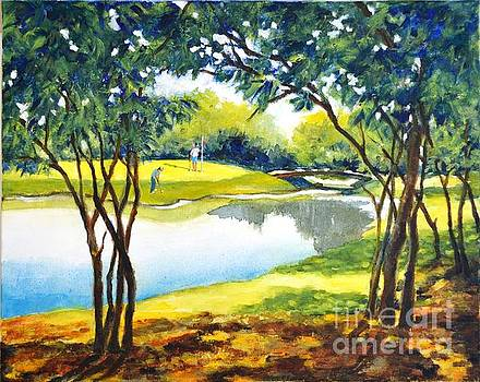 Golf haven by Betty M M Wong