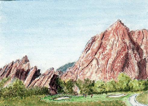 Golf on the Rocks by Barry Jones