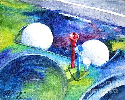 Golf series - Back safely by Betty M M Wong