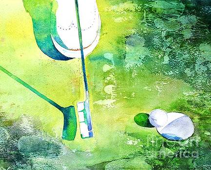 Golf series - Finale by Betty M M Wong
