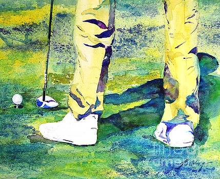Golf series - High Hopes by Betty M M Wong