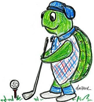 Golf Turtle by Deborah Willard