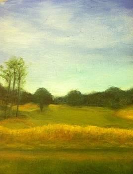 Golfcourse by Barbara Joyce