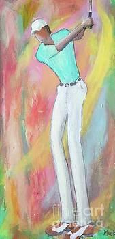Golfer 1 by Mark Macko