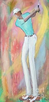 Golfer 2  by Mark Macko