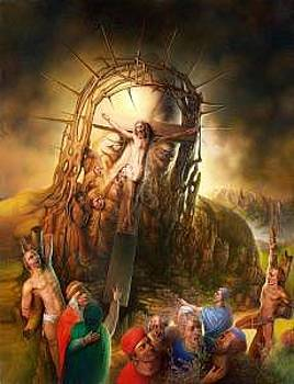 Golgotha by Andre Martins de Barros