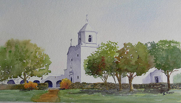 Goliad Mission by Sandy Reese