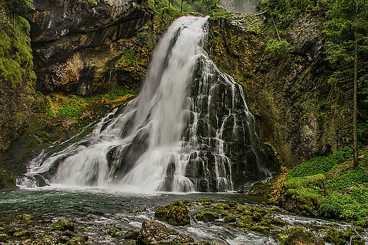 Golling Falls by Ulrich Burkhalter