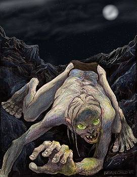 Gollum Descends by Brian Child