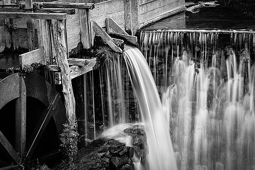 Gomez Mill House Black and White by Mary D'Urso