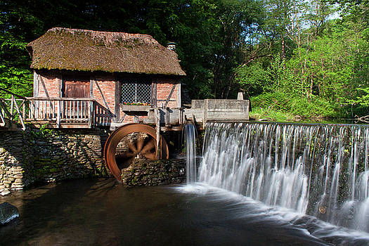 Gomez Mill in Spring #1 by Jeff Severson