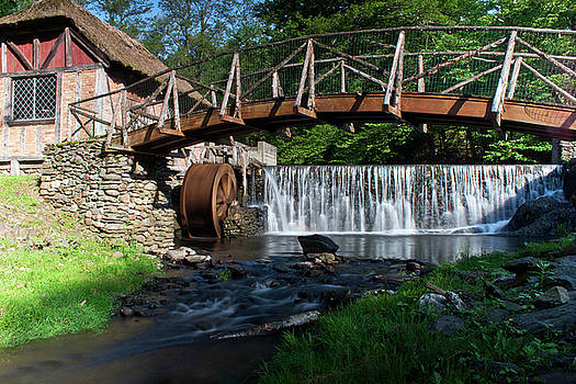 Gomez Mill in Spring #2 by Jeff Severson