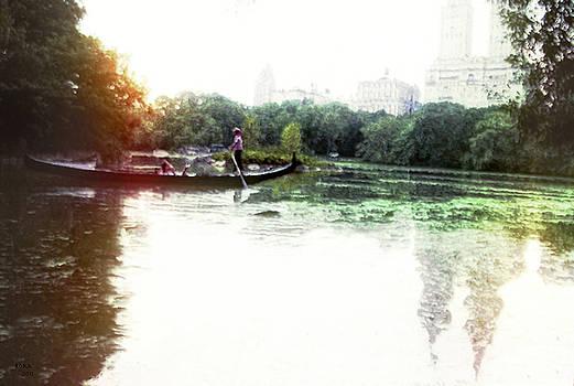 Gondola in Central Park by Rora