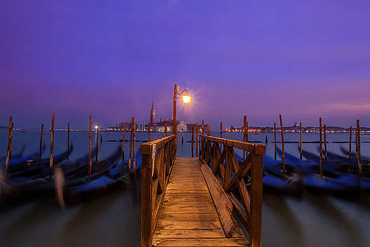 Gondolas at Dawn by Andrew Soundarajan