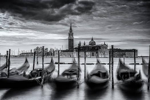 Gondolas of Venice by Andrew Soundarajan