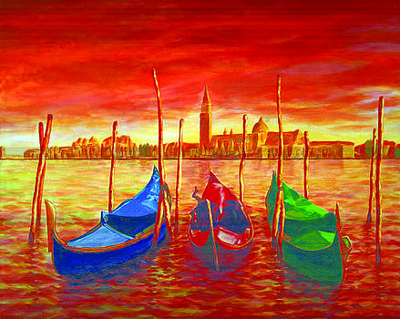 Gondolas by Patrick Parker