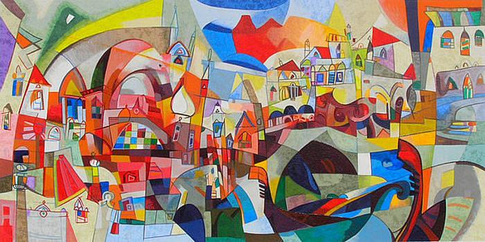 Gondole by Miljenko Bengez