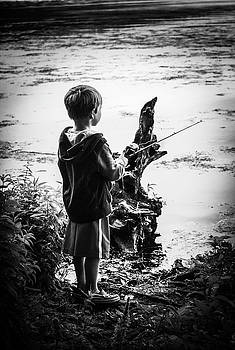 Gone fishin by Amy Layton