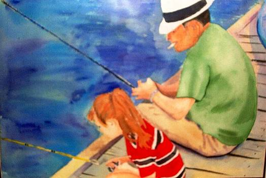 Gone Fishin by Terry Groehler