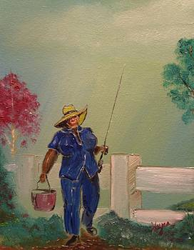 Gone Fishing by Barbara Hayes