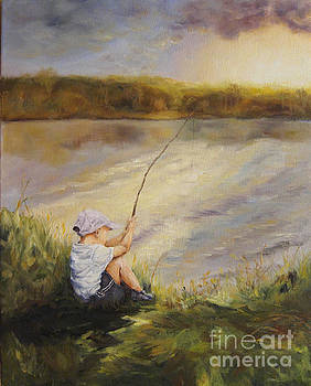 Gone Fishing by Diane Kraudelt
