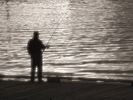 Gone Fishing by Mark Alan Perry
