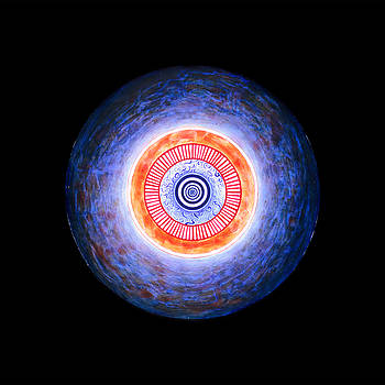 Gong of Initiation Circle Wholeness Unity by Heidi Hanson