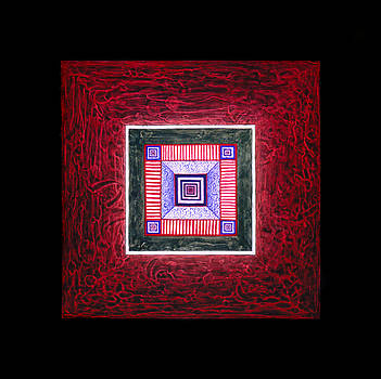 Gong of Initiation Square - Prosperity Stability Manifestation by Heidi Hanson