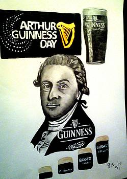 Good day for a Guinness by Pauline Murphy