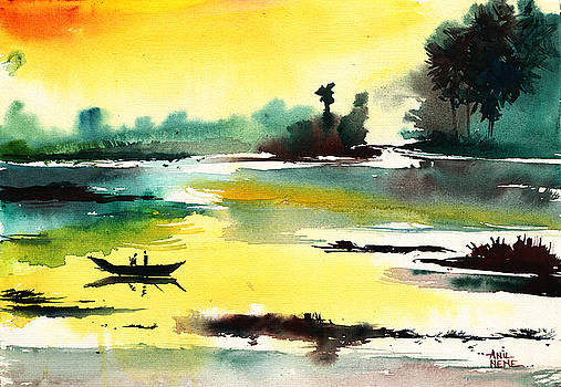 Good Evening 1 by Anil Nene