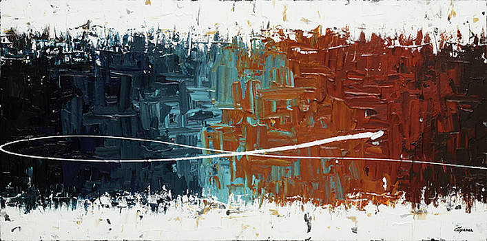 Good Feeling - Abstract Art by Carmen Guedez