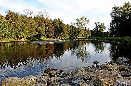 Debbie Oppermann - Good Fishing Spot On The Grand River