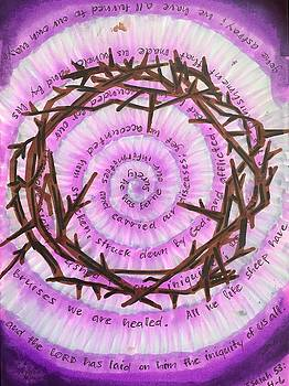 Good Friday Crown of Thorns by Vonda Drees
