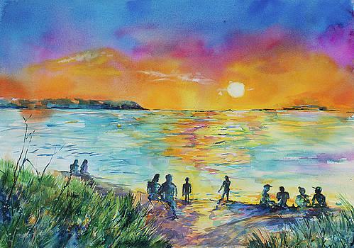 Good Harbor Sunset by Adam VanHouten